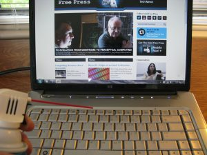 Ants in Laptop Keyboard